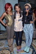 China Anne McClain, Lauryn McClain, and Sierra McClain