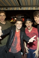 Big Time Rush performs at Universal Studios in Orlando, FL!