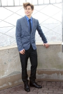 Jake T. Austin on Top of the Empire State Building