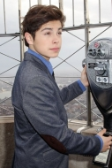 Jake T Austin on Top of the Empire State Building