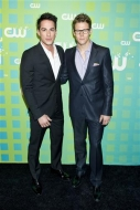 Michael Trevino and Zach Roerig