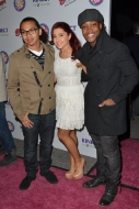 Ariana Grande and Leon Thomas III