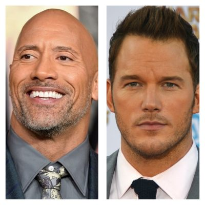 Dwayne Johnson- Chris Pratt