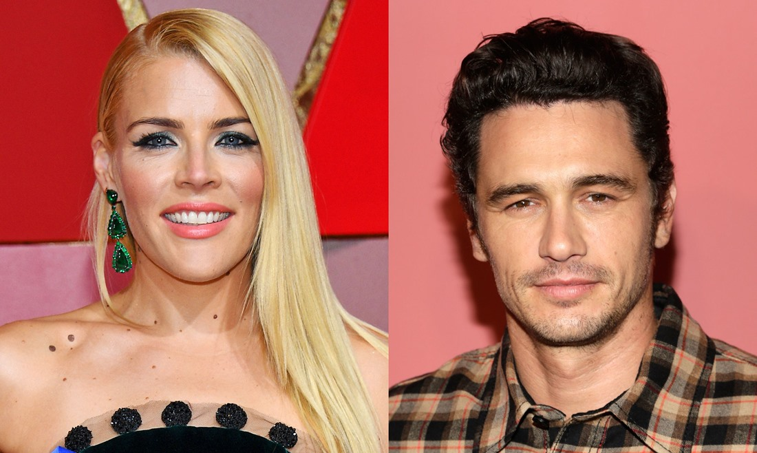 Busy Philipps and James Franco
