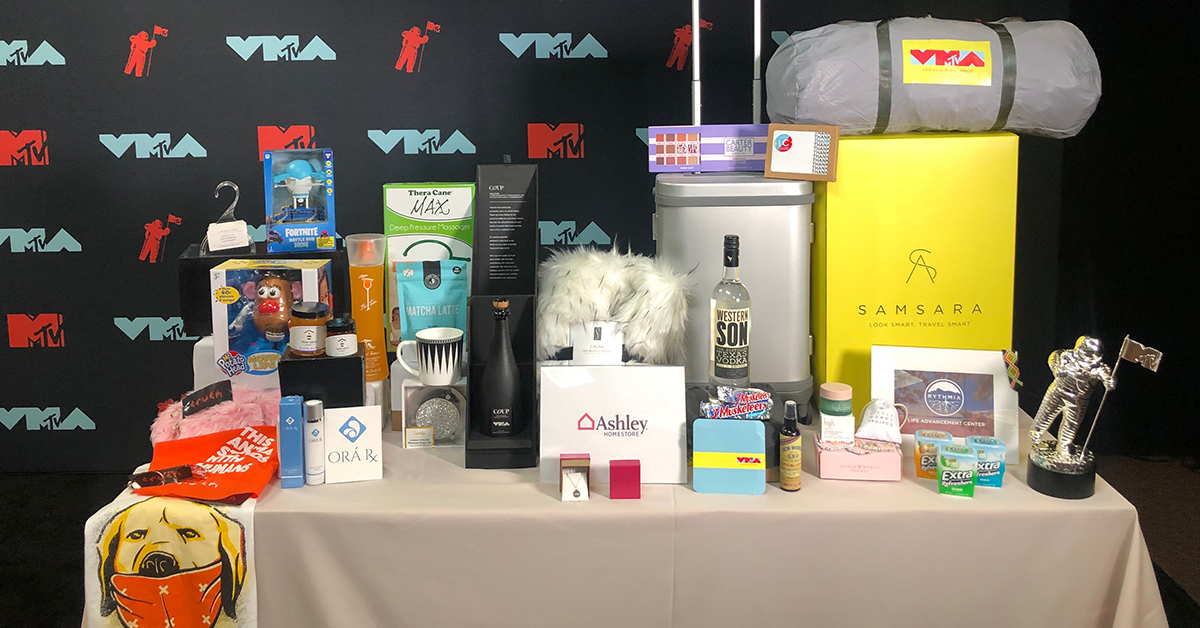 Check Out All The Cool Stuff Celebs Will Be Taking Home From